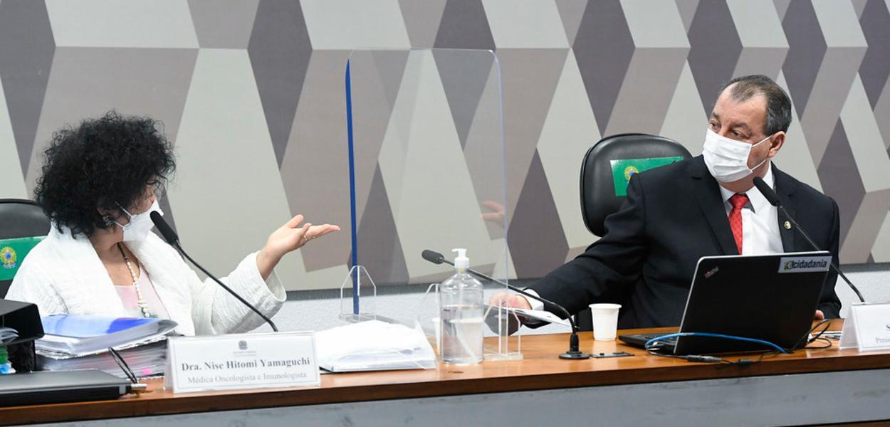20210601170620 e4581de3 813a 4c71 87e0 bd014d3350d0 - Senador Omar Aziz nega misoginia contra Nise e diz que médica mentiu na CPI