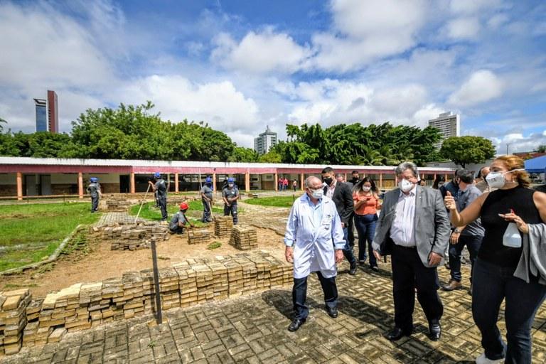 3f04dcde 57f8 4ac6 b467 a627135039ea - João Azevêdo acompanha início das obras de construção da primeira oficina ortopédica da Paraíba