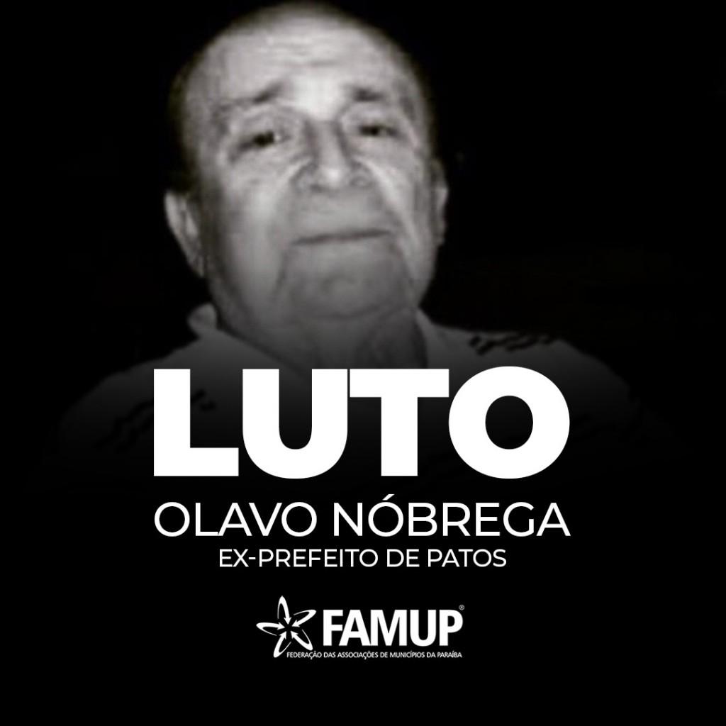 4414e540 e416 499a dc73 044ea9b1f211 - Famup lamenta morte do ex-prefeito de Patos Olavo Nóbrega de Sousa