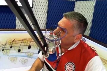 """Presidente do Atlético de Alagoinhas se descontrola e ataca radialista em programa: """"Você não está falando com cachorro por**!""""- VEJA VÍDEO"""