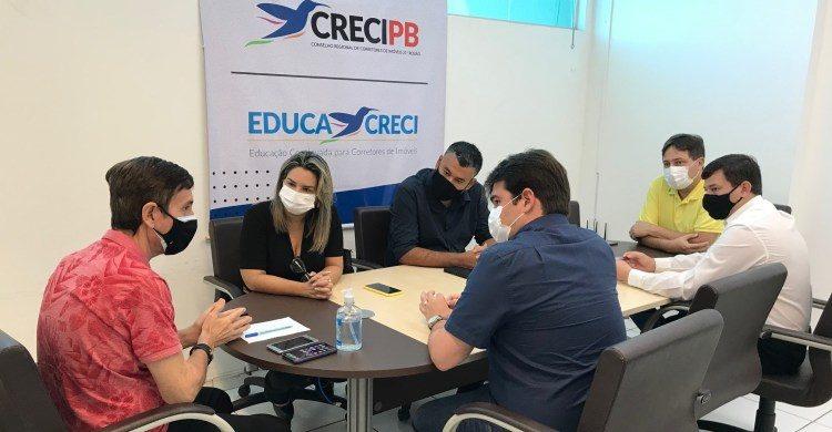 WhatsApp Image 2021 06 02 at 10.11.50 PM 750x390 1 - Prefeitura de Conde e Creci discutem parcerias em prol dos corretores de imóveis do litoral sul paraibano