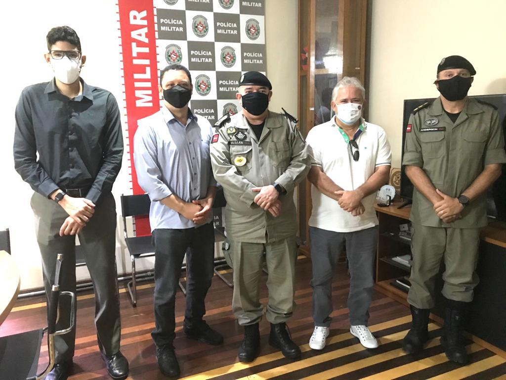WhatsApp Image 2021 06 02 at 15.03.24 - CBTU e Polícia Militar firmam parceria para combater ações delituosas no trecho ferroviário da Região Metropolitana
