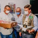 WhatsApp Image 2021 06 23 at 18.57.23 - Ministro João Roma faz entrega de alimentos em João Pessoa e anuncia renovação de auxílio emergencial