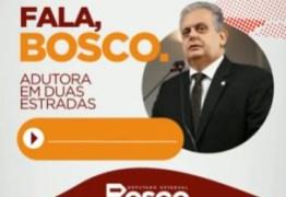 Bosco Carneiro fala sobre o pedido pela implantação de uma adutora que irá beneficiar a região de Duas Estradas – OUÇA