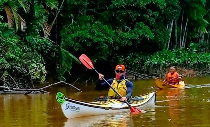 canoage - DO OIAPOQUE AO CHUÍ: atleta da canoagem que busca atravessar o país à bordo de um caiaque, chega a Paraíba neste domingo (27) - VEJA VÍDEO