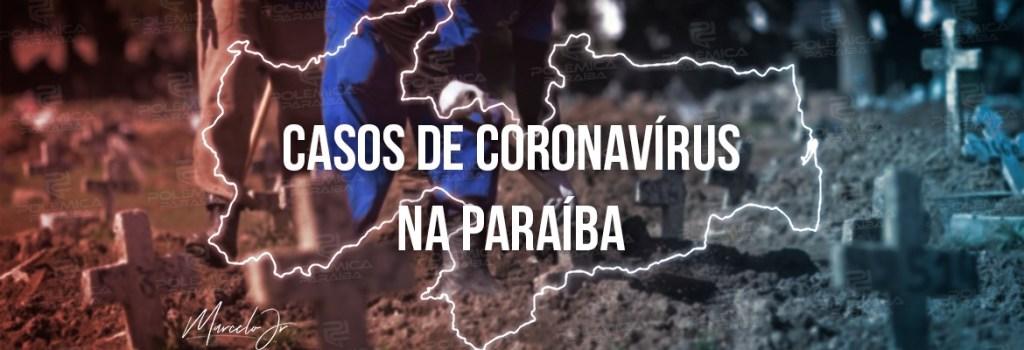 casos coronavirus 1 - Paraíba registra 1.992 novos casos de Covid-19, neste sábado (05)