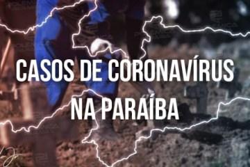 casos coronavirus 1 - Covid-19: Campina Grande é o município paraibano com maior número de casos em novo boletim