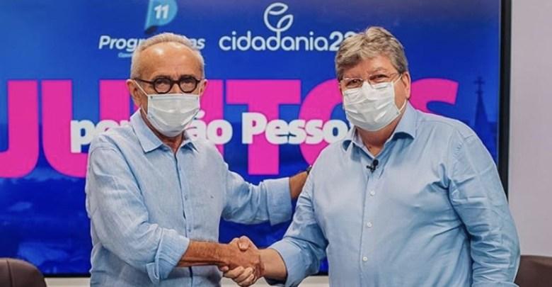 cicero e joao2 - Recursos para a infraestrutura: Cícero e João lançam pacote de obras de R$ 1 bilhão para João Pessoa