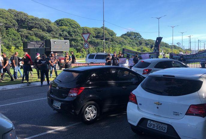 csm WhatsApp Image 2021 06 08 at 08.38.24 e5b2011842 - RETOMADA DAS ATIVIDADES: músicos encerram protesto após comissão ser recebida pela Procuradoria do município
