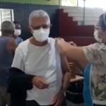 dom delson - Arcebispo da Paraíba, Dom Delson, toma segunda dose da vacina contra a covid-19 - VEJA VÍDEO