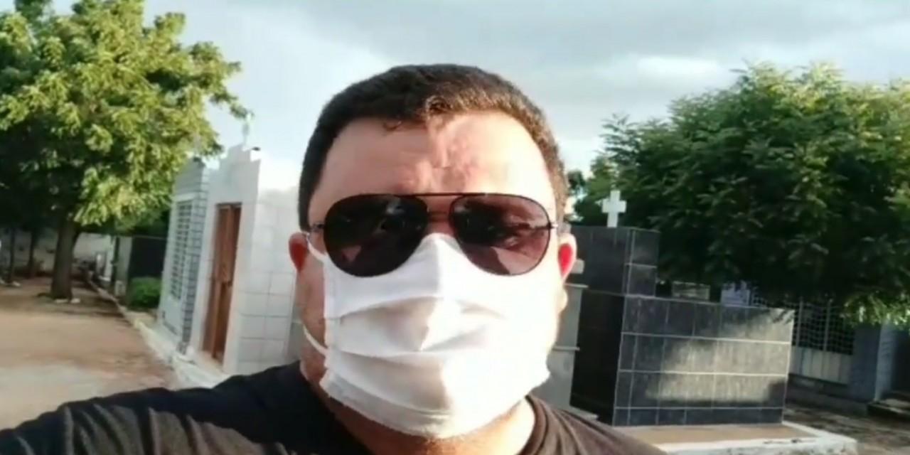 """fabio diniz video - PERDAS, FAMÍLIA E VALOR DA VIDA: emocionado, radialista Fábio Diniz gravou vídeo refletindo sobre a vida: """"Aqui se encerra nossa história"""" - ASSISTA"""