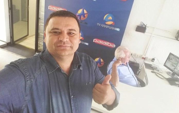 fabio - Sistema Arapuan lamenta morte de Fábio Diniz: 'uma das vozes mais marcantes'