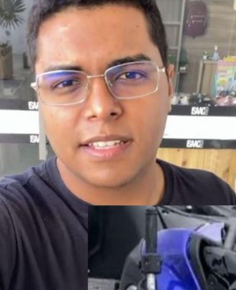 isaac - Corpo do jovem Isaac Filho, morto em acidente de trânsito, é liberado pelo IPC de João Pessoa