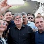 joo azevedo e chico - Chico Mendes anuncia obras em São José de Piranhas, defende João Azevêdo e projeta eleições 2022