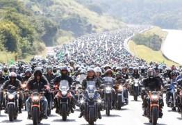 CERCA DE 6 MIL MOTOS: vídeo faz contagem com computação gráfica em 'motociata' de Bolsonaro