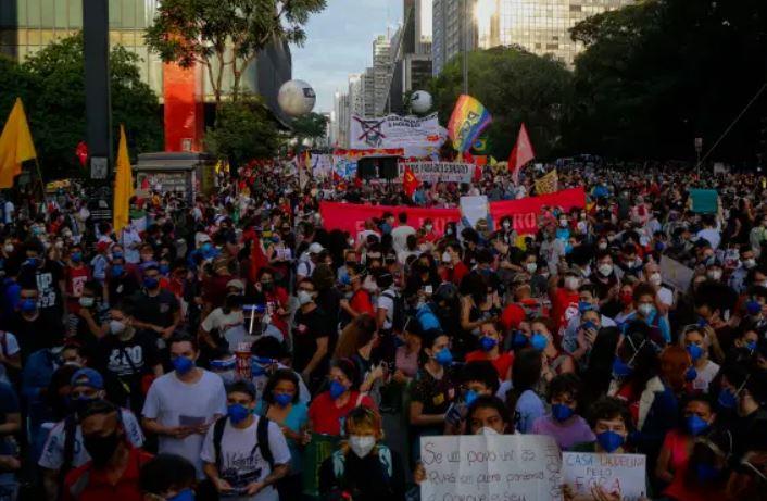 movv - Novos protestos contra Bolsonaro são anunciados para o dia 19 de junho