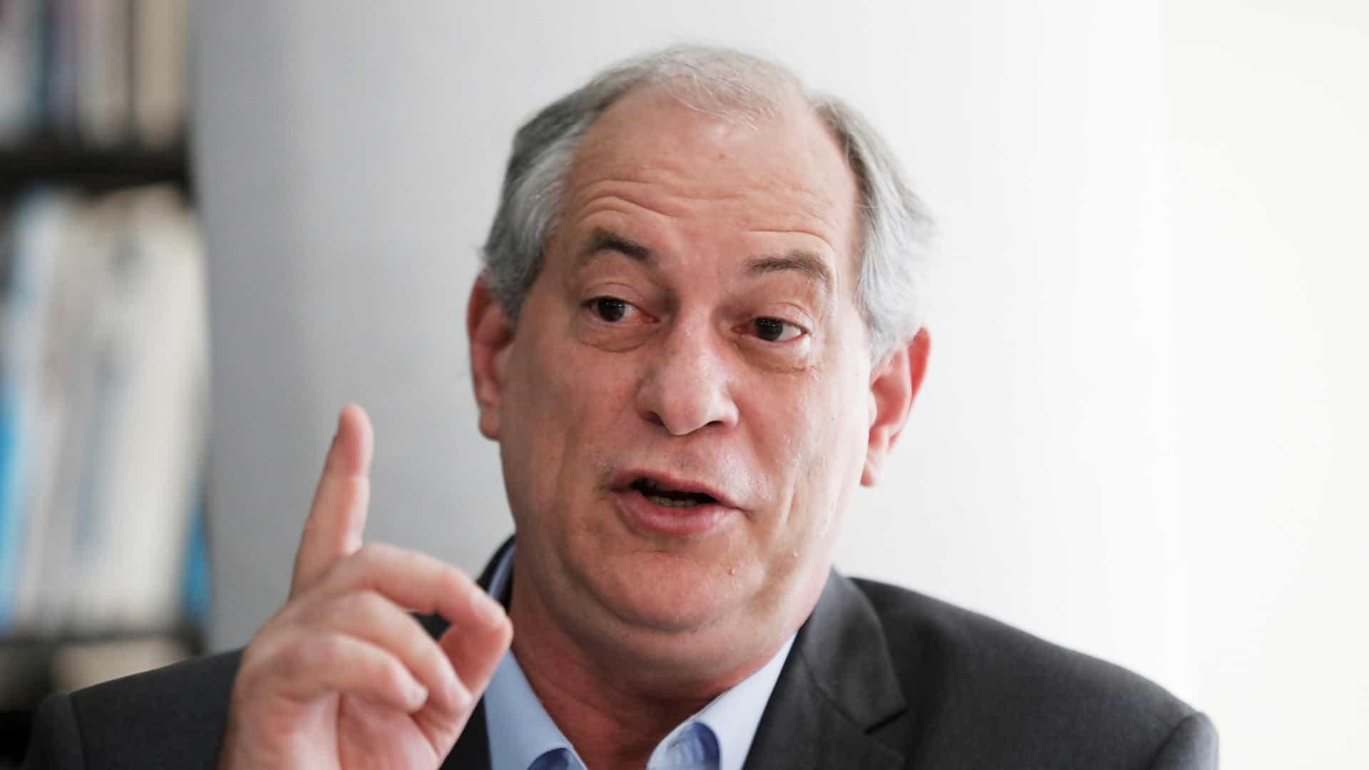 naom 5bb904bc46cec - Eleições 2022: Ciro diz que lutará para disputar 2º turno como 'obrigação moral'