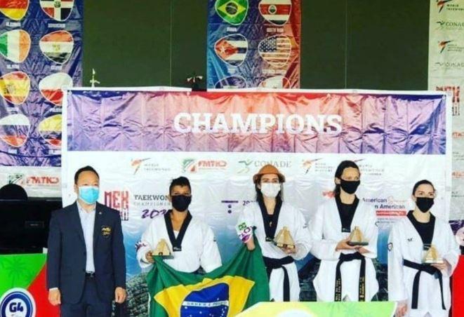 para - Paraibana Silvana Fernandes vence Pan-Americano de Taekwondo, no México e é classificada para Tóquio 2021