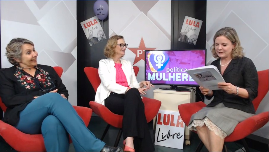 politica com mulheres - Gleisi Hoffmann e Erika Kokay querem mudar nome da Câmara dos Deputados para combater 'machismo estrutural'