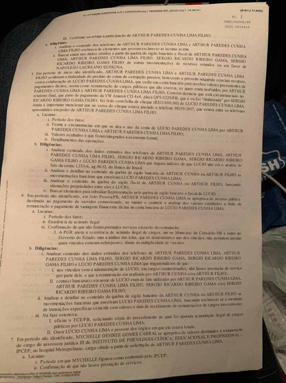 portaria4 - OPERAÇÃO CALVÁRIO: Romero Rodrigues será investigado por doação de terrenos da Prefeitura de Campina Grande
