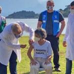 queiroga 1 - 'Não queria ser vacinada por você', diz moradora de Paquetá ao ministro Marcelo Queiroga
