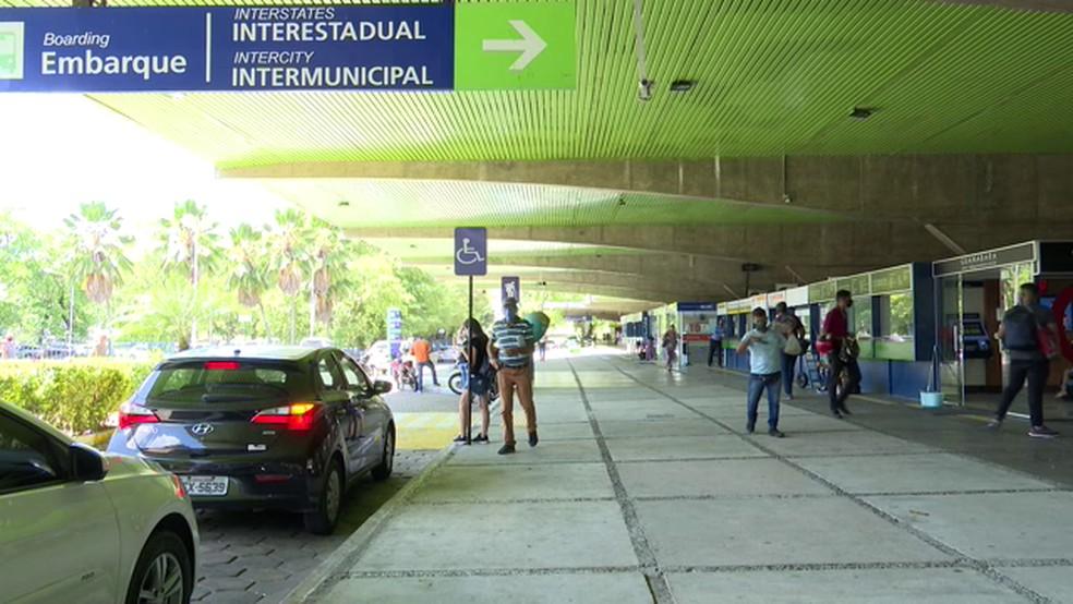 rodoviaria de jp3 1 - Rodoviária de João Pessoa prevê cerca de 40 mil passageiros no período de São João