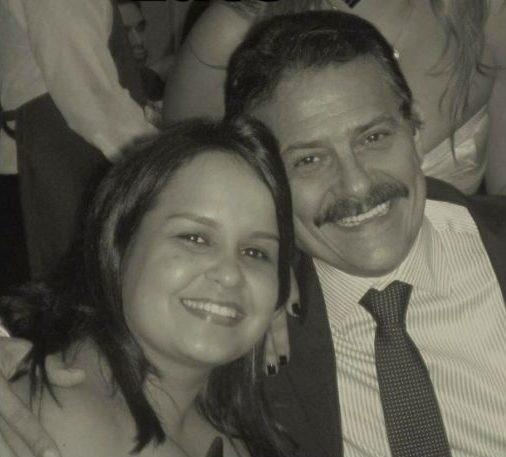 """tiao gomes filha e1623254939543 - Bastante abalado, Tião Gomes publica mensagem de despedida para filha falecida: """"Não há nada neste mundo que possa me reconfortar"""""""