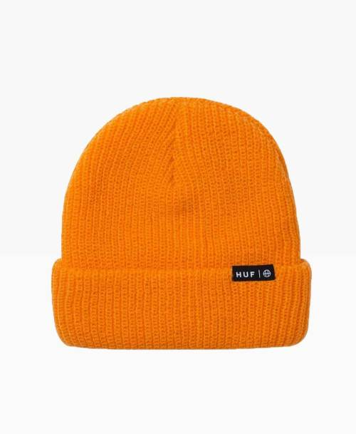 Huf Usual Beanie Orange Front