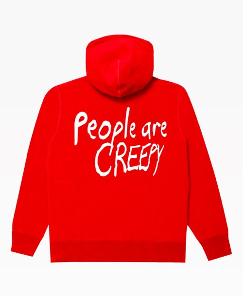 Lifesux People Hoodie Red Back