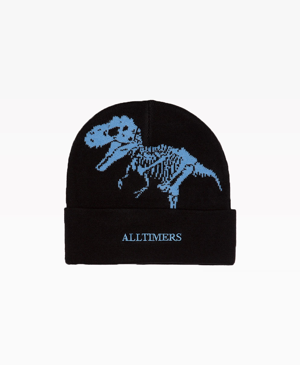 Alltimers Nh Beanie Navy Front