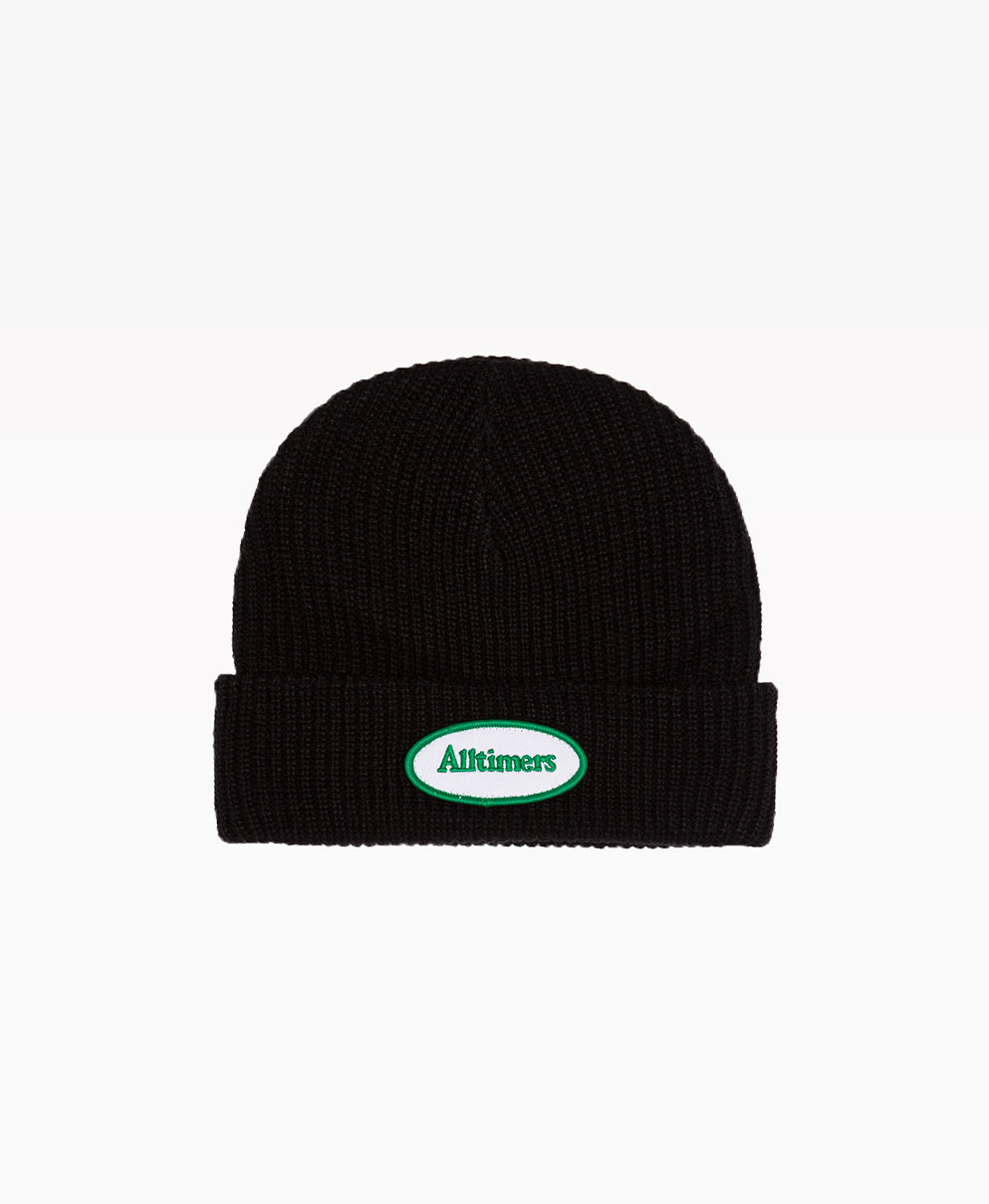 Alltimers Tankful Beanie Black Front