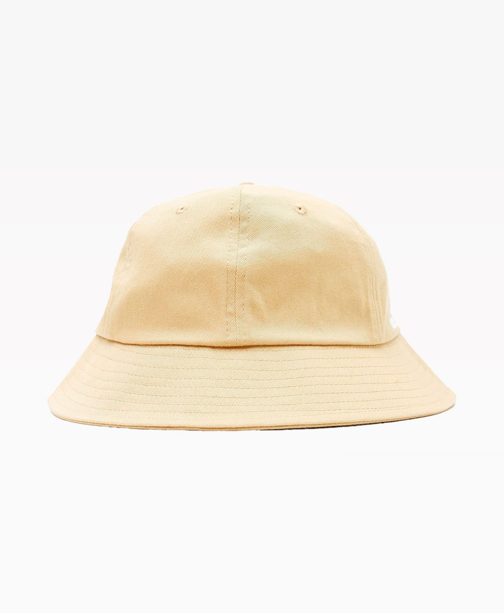 Obey Clothing Organic Bucket Hat Almond Back