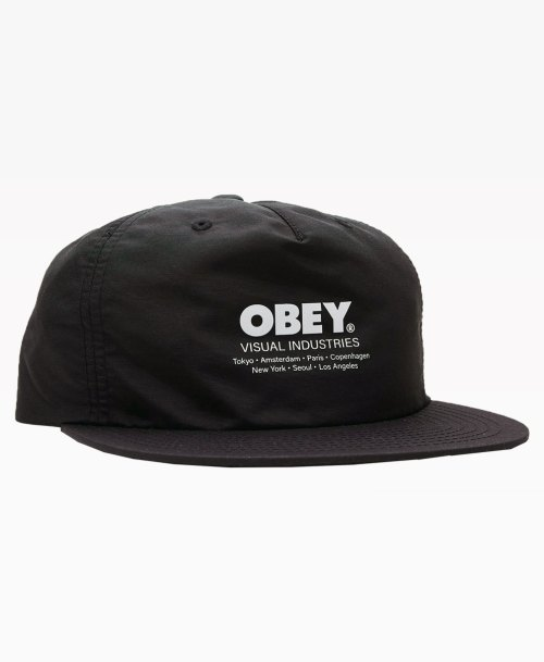 Obey Clothing Raid Strapback Hat Front