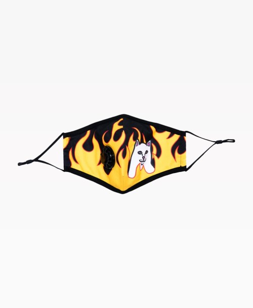 Ripndip Welcome To Heck Ventilated Mask Front