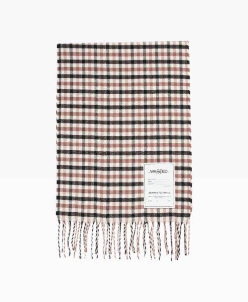 Wasted Tartan Scarf Front2