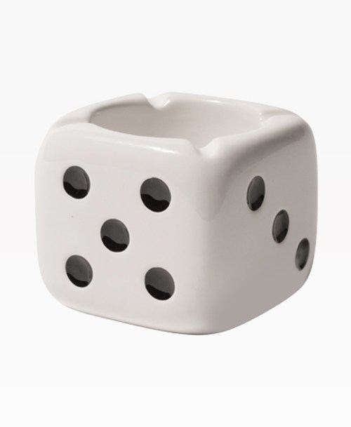 Stussy Ceramic Dice Ashtray Front
