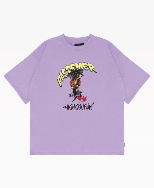 Pas De Mer High Couture Tee Purple Front