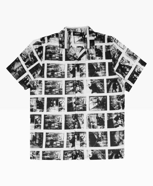 Wasted Criminal Shirt Black White Front
