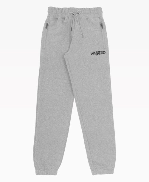 Wasted Jogging Essential Heather Grey Front