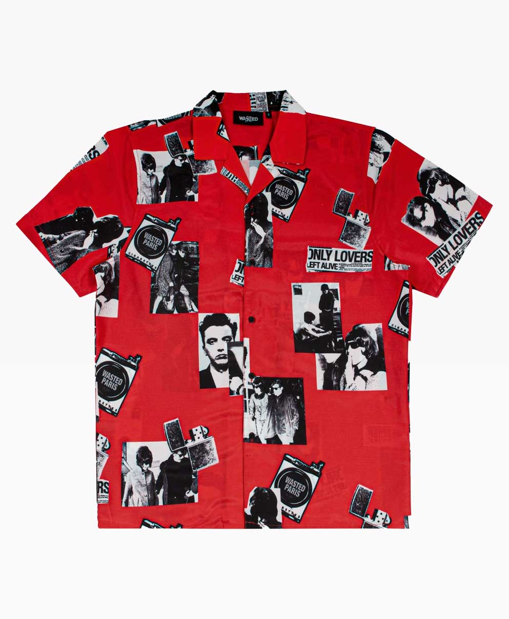 Wasted Young Shirt Red Front