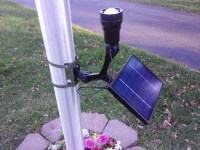 Solar Flag Lighting | Lighting Ideas