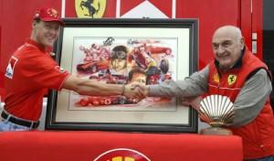 Shell 100th Ferrari Victory