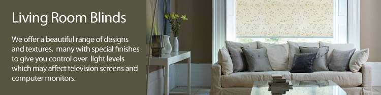 Living Room Blinds Blinds Recommended For The Lounge
