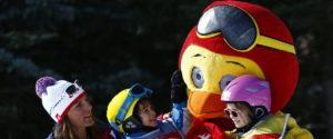 kinderen op wintersport esf valmorel