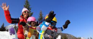 kinderen op wintersport plezier in valmorel