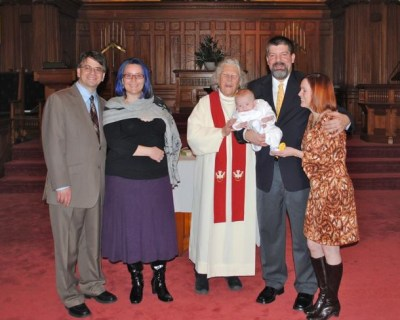 Riley's Baptism