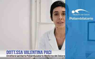 Dott.ssa Valentina PaciPoliambulatorio Medicina del Dolore Rimini