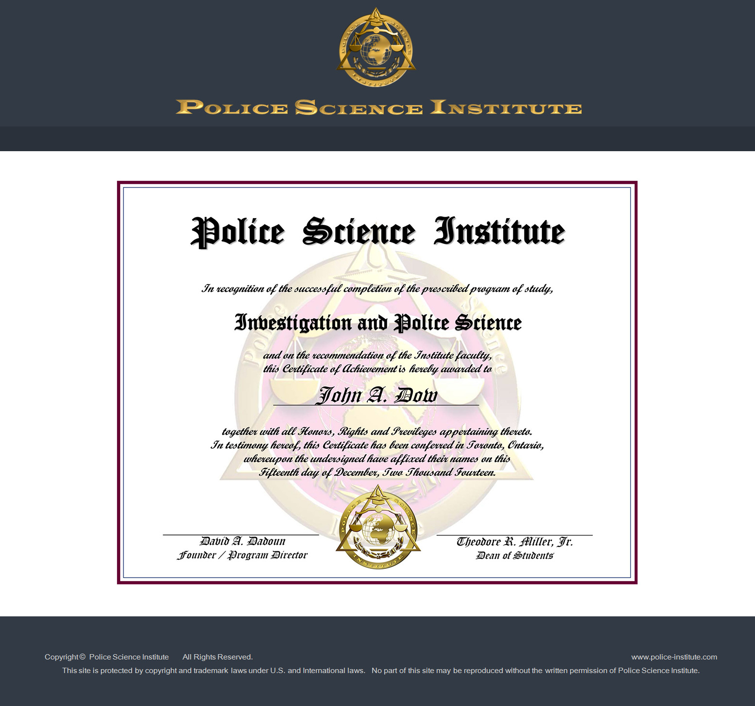 Learn How To Become A Private Investigator Police