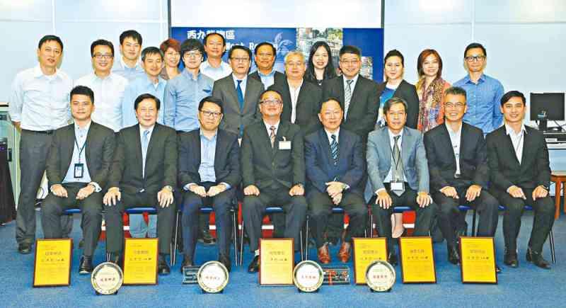 西九龍刑事總部打擊假卡獲表揚。
