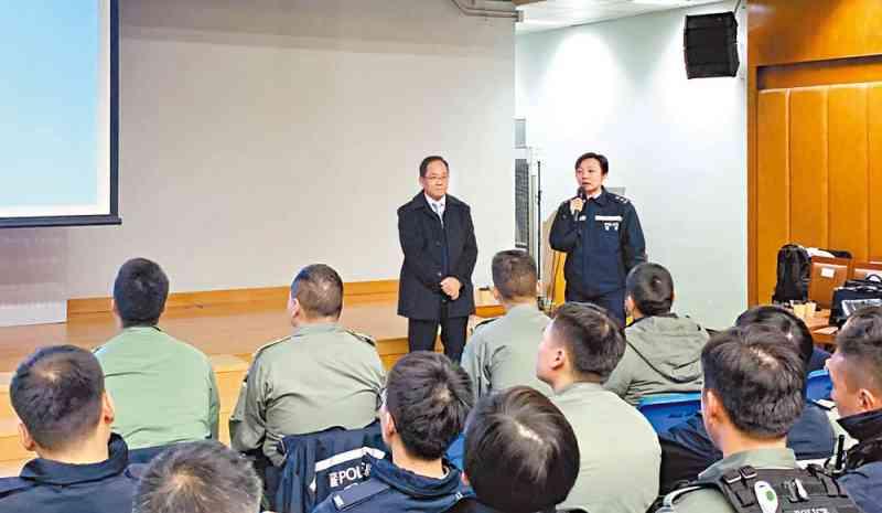 東九龍總區行動部為前線人員舉辦行動急救講座